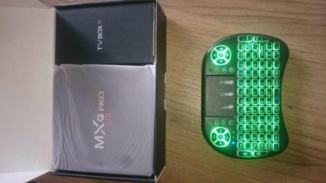 Tv box Mxq Pro 4k 3gb ram/16gb, Android 8.1 converte tv comum em Smart Tv NOVO na Caixa - Foto 2