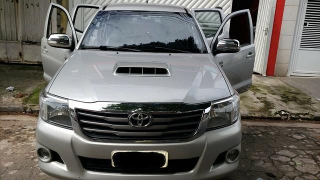 Toyota Hylux CD 3.0 SR 4 x 4, Ano 2013, Òtimo Estado, Aceito Troca - Foto 3
