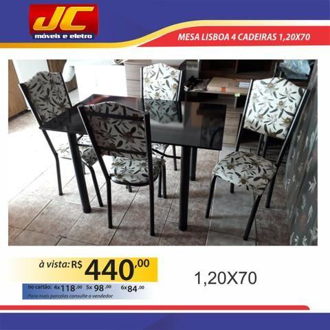 Mesa Lisboa 4 cadeiras