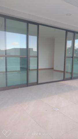 Apartamento térreo jardim C/ piscina privativa 4 suítes cond paradiso reserva do paiva - Foto 10