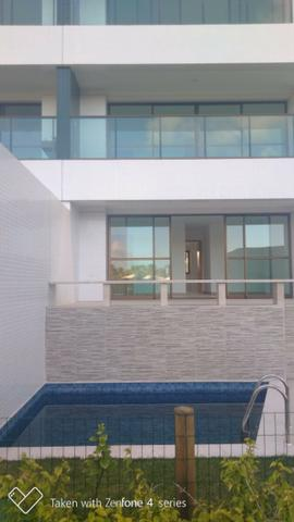 Apartamento térreo jardim C/ piscina privativa 4 suítes cond paradiso reserva do paiva