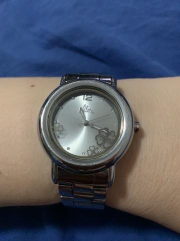 75f9c719a3e Relógio Allora Pulseira de Aço - Bijouterias