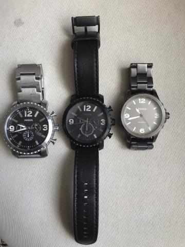 c25b18fe3e1 Kit com 3 Relógios Fóssil