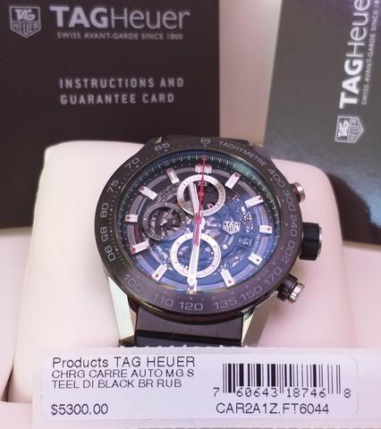 808046dd5ab Relógio Tag Heuer Carrera Calibre Heuer 01 - 45mm - Bijouterias ...