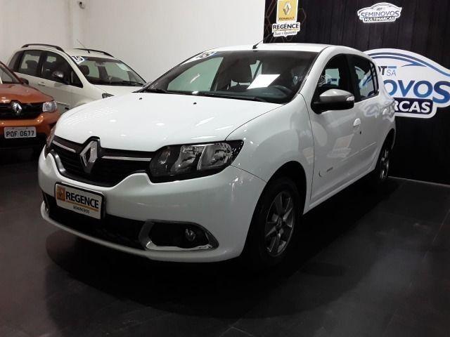 Renault Sandero 1.0 Vibe, 2017/2018, Completo, Branco, 48.000km