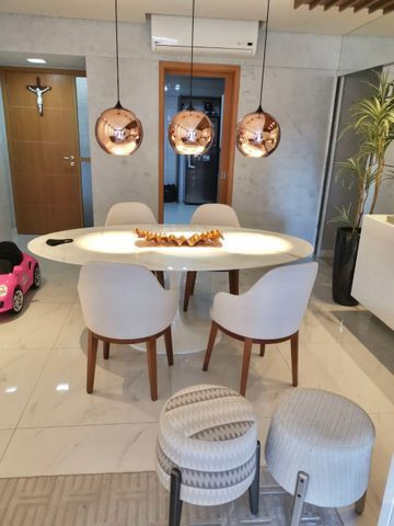 Lindo apartamento todo pronto com varanda gourmet na ponta verde - Foto 2
