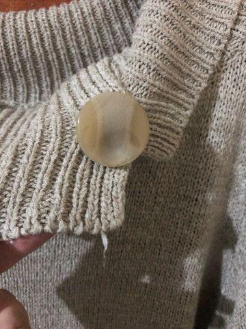 Blusa comprida feminina  - Foto 3