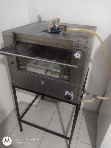Vendo forno de pizzas e pães  promac 500 graus com infravermelho - Foto 5