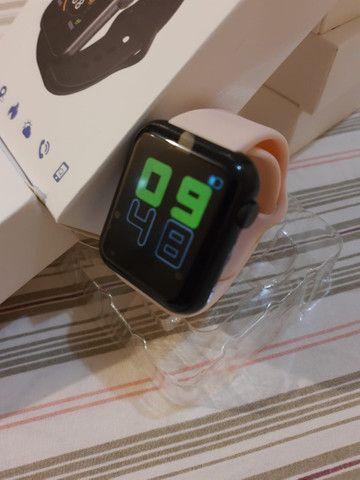 Pra ir Logo !! Smartwatch NOVO!! Pode colocar fotos!! (Aceito Cartão) - Foto 5