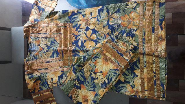 Axo masculino em tecido de Gorgurão