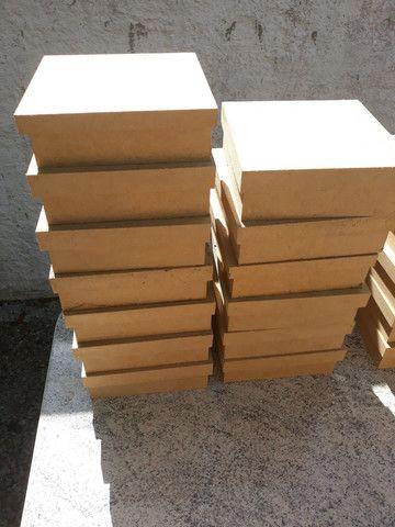 Lote de caixas de MDF para artesanato - Foto 5