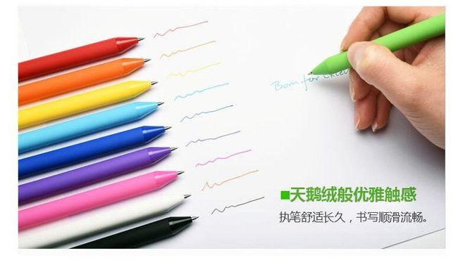 Xiaomi Kit com 10 canetas gel 0.5mm Kakogreen - Foto 3