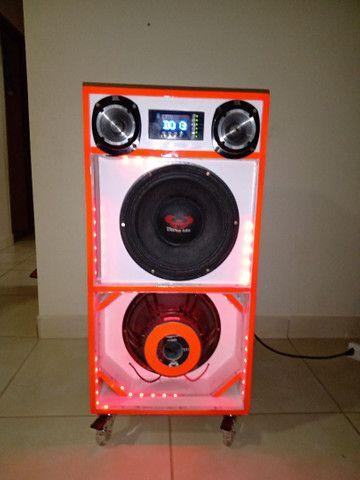 Caixa de som residencial potente - Foto 5