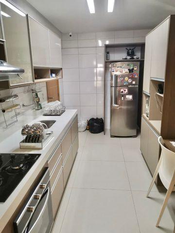 Lindo apartamento todo pronto com varanda gourmet na ponta verde - Foto 12