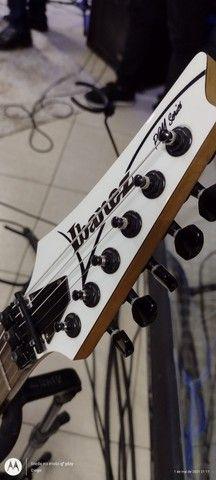 Vendo ou troco Guitarra Ibanez Pgm3 linda bem cuidada  - Foto 4