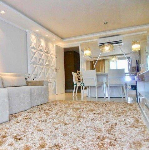 Apartamento com 3 dormitórios à venda, 115 m² por R$ 1.200.000,00 - Porto das Dunas - Aqui - Foto 4