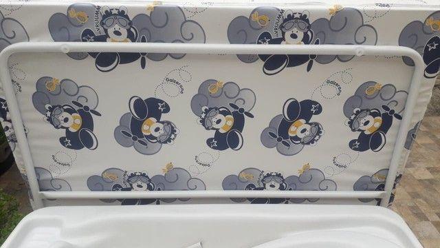 Banheira completa + kit 5 saquinhos de maternidade  - Foto 5