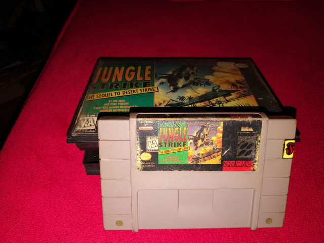 Jungle Strike super Nintendo