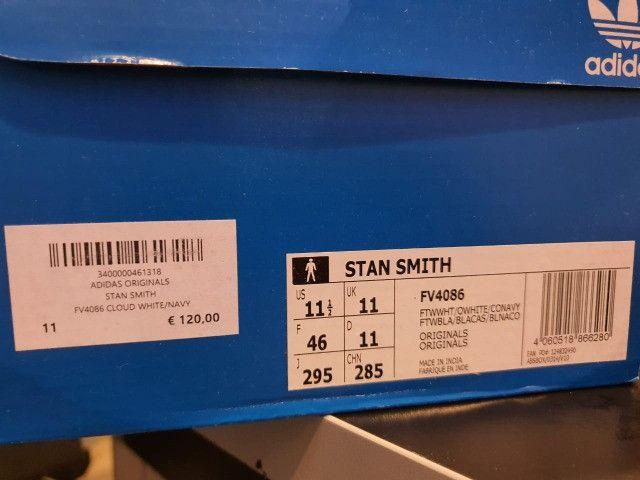 Tenis adidas - stan smith - original/novo - 43(11 1/2) - Foto 6