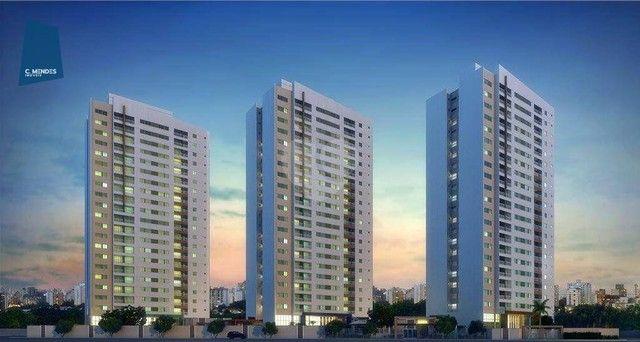 Apartamento com 2 dormitórios à venda, 56 m² por R$ 374.749,10 - Benfica - Fortaleza/CE - Foto 3