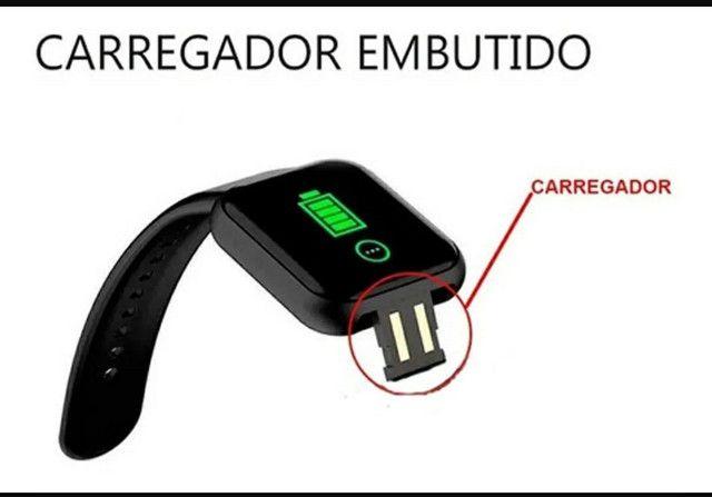 Smartwatch Y68 D20 Relogio inteligente conexão Bluetooth  - Foto 5