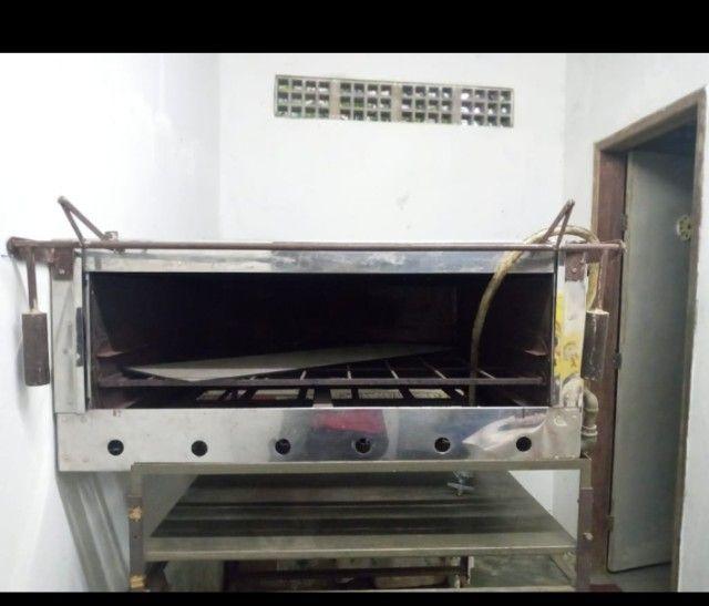 Forno de inox para assar pizza ou bolo - Foto 2