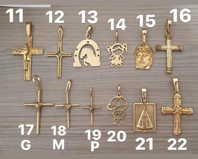 Jóias artesanais de moedas antigas idêntica ouro - Foto 4