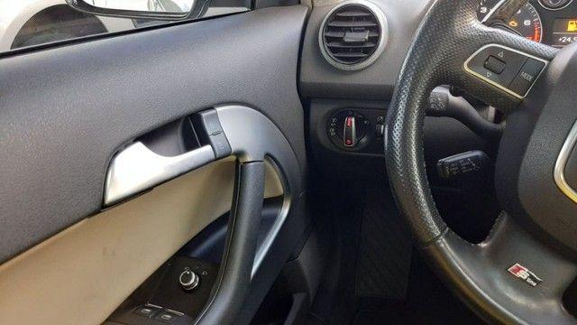Audi A3 2.0 Tfsi Completo Automático 2011 Entrada + parcelas de R$899,96  - Foto 9