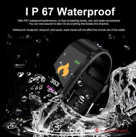 Smartband Relogio Inteligente Id115 Plus Hr Monitor Cardíaco - Foto 3