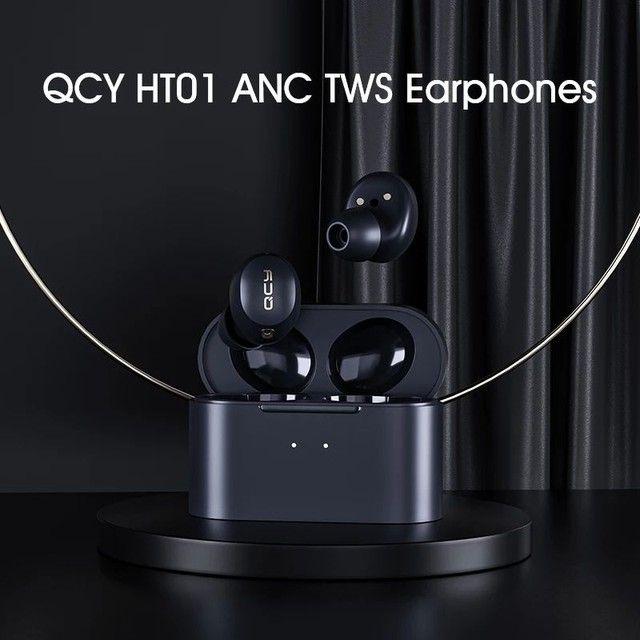 Fone de ouvido QCY-HT01 Promoção APTx-30h ANC - Foto 2