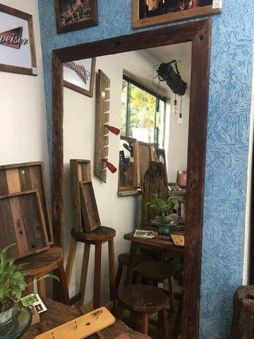 Molduras para espelho e quadros em madeira cruzetas - Foto 2