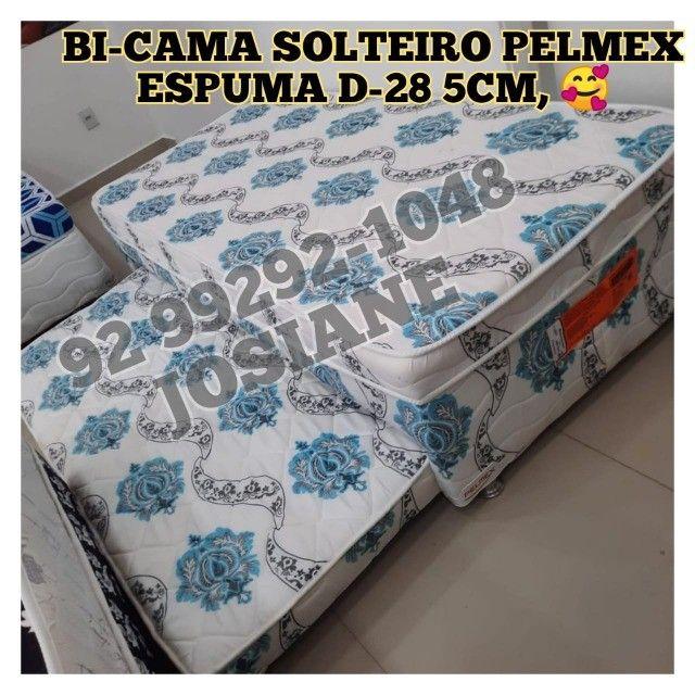 Bi-cama solteiro pelmex espuma