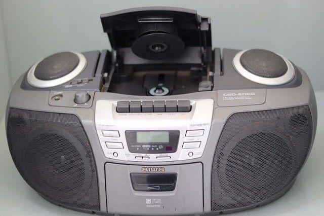Rádio som Aiwa csd-ed68 funciona tudo - Foto 2