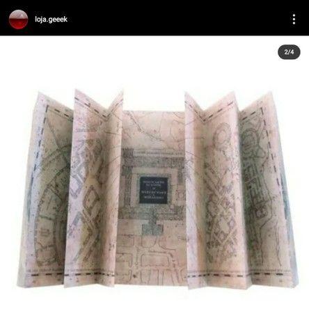 Mapa do maroto + tickets - Foto 2