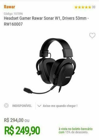 Headset gamer - Foto 4