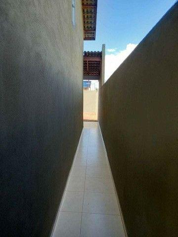 Casa nova com suite e porcelanado e churrasqueira  canelas vg - Foto 11