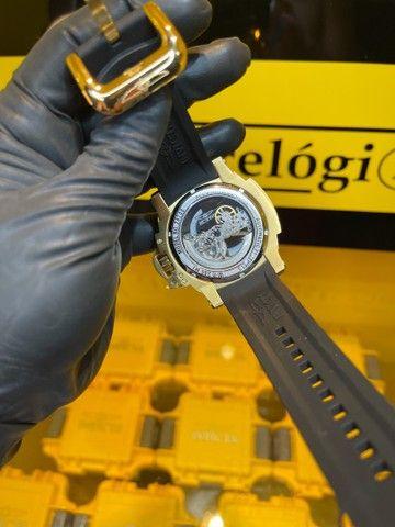 Relógio invicta force detalhe preto transparente  - Foto 2