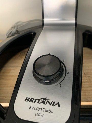 Ventilador Britania 40 Centímetros 8 Pás 3 velocidades 127v (novo) - Foto 2