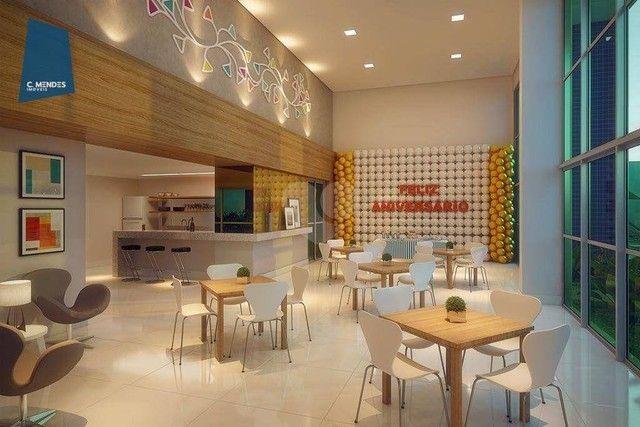 Apartamento com 2 dormitórios à venda, 56 m² por R$ 374.749,10 - Benfica - Fortaleza/CE - Foto 5