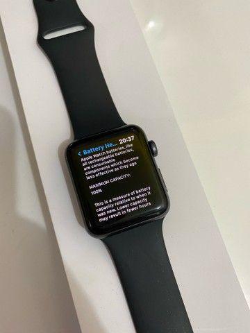 Apple Watch Series 3 42mm menos de um mês de uso - Foto 2