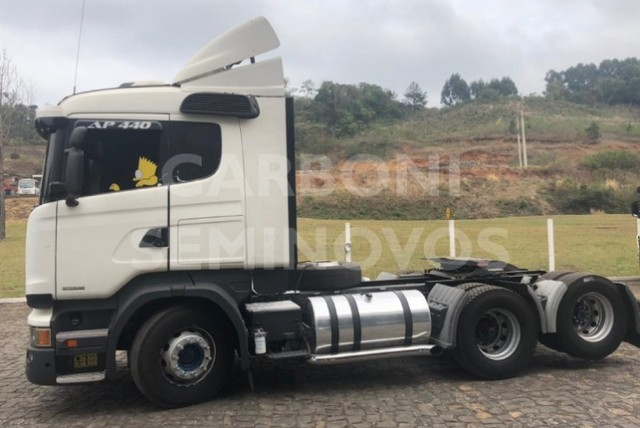 Scania R 440 A 6X2, ano 2013/2014 - Foto 4