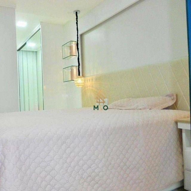 Apartamento com 3 dormitórios à venda, 115 m² por R$ 1.200.000,00 - Porto das Dunas - Aqui - Foto 3