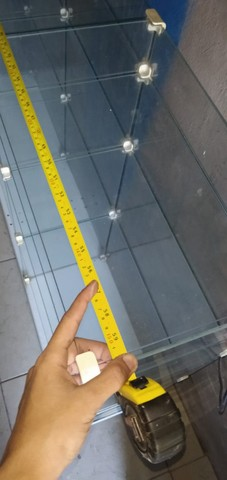 Balcão Caixa Modulado em Vidro - Foto 3