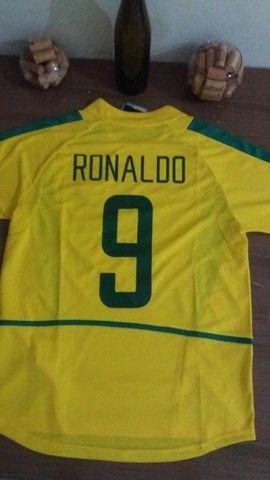 Camisa do brasil 2002 - Foto 2