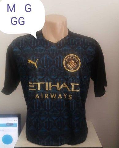Camisas de time 1 linha nacional disponível só tamanho G - Foto 4