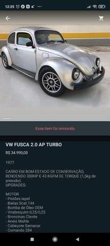 Fusca 2.0 Ap turbo  - Foto 2