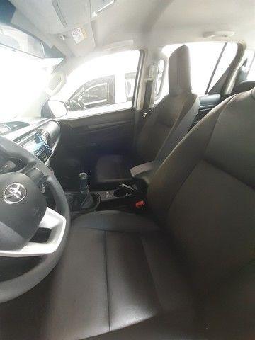 Toyota Hilux 2019 4x4 Diesel, Prata Liberada - Foto 8