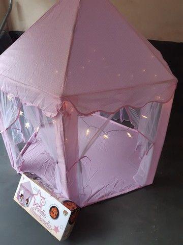 Tenda iluminada com luzes decorativas-  marca- dm/ toys. - Foto 3