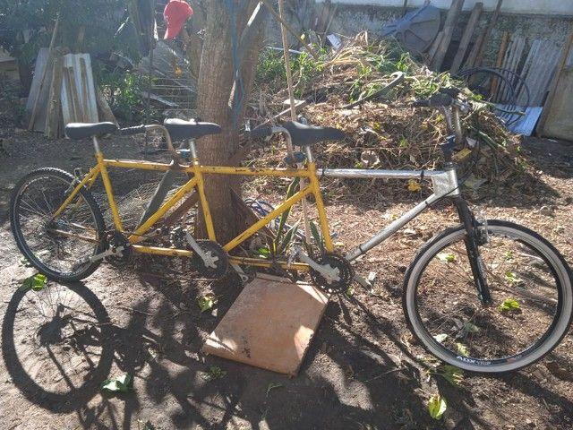 Bicicletas de duas e três pessoas a com dois lugares te bagagem - Foto 3