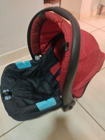 Bebê conforto Burigotto Touring semi novo - Foto 3